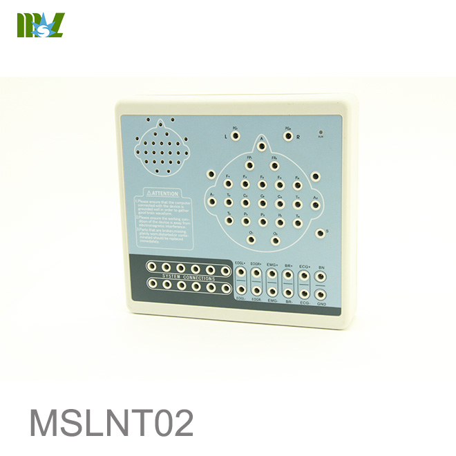 19 channels of EEG Digital Brain Electric Activity Mapping MSLNT02
