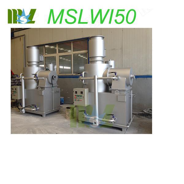 hospital medical waste incinerator MSLWI50