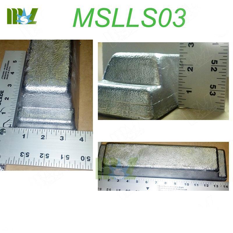 lead ingot mold MSLLS03