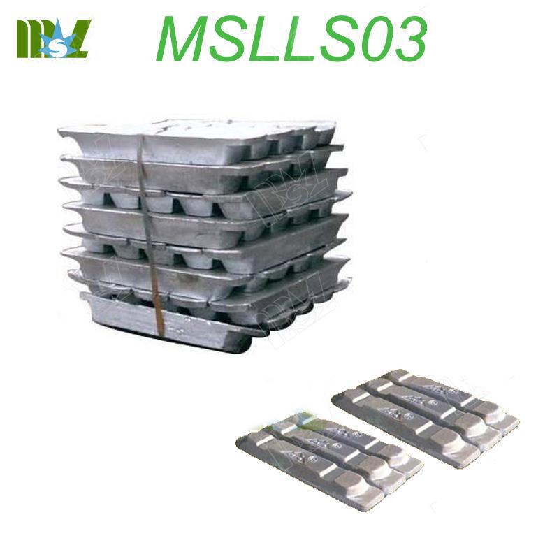 lead ingot MSLLS03