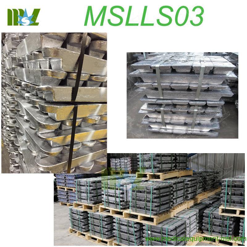 lead ingot cost MSLLS03