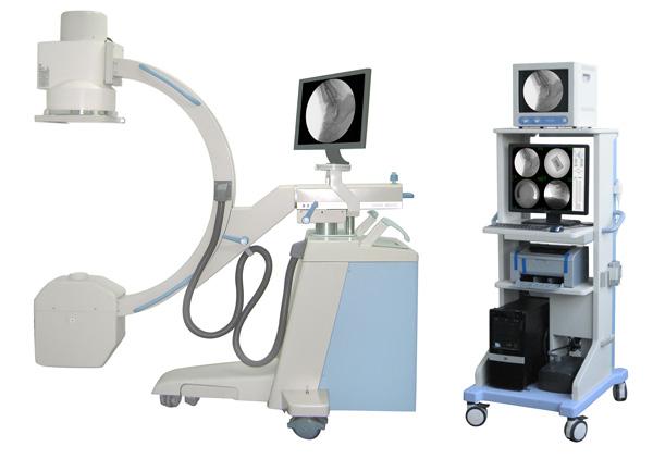 Medical c-arm x-ray fluoroscopy machine MSLCX30