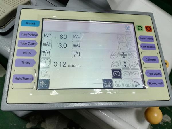Use C-arm X-ray Machine MSLCX34