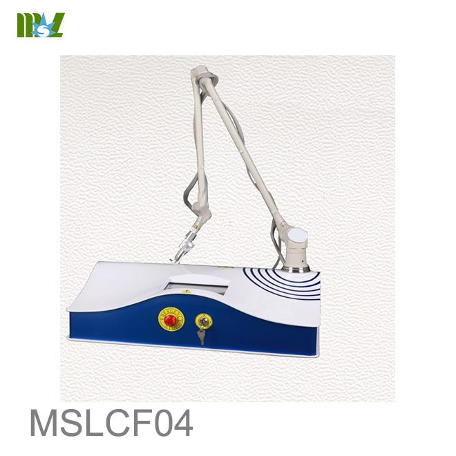 Best co2 laser for ance scar removal MSLCF04 for sale