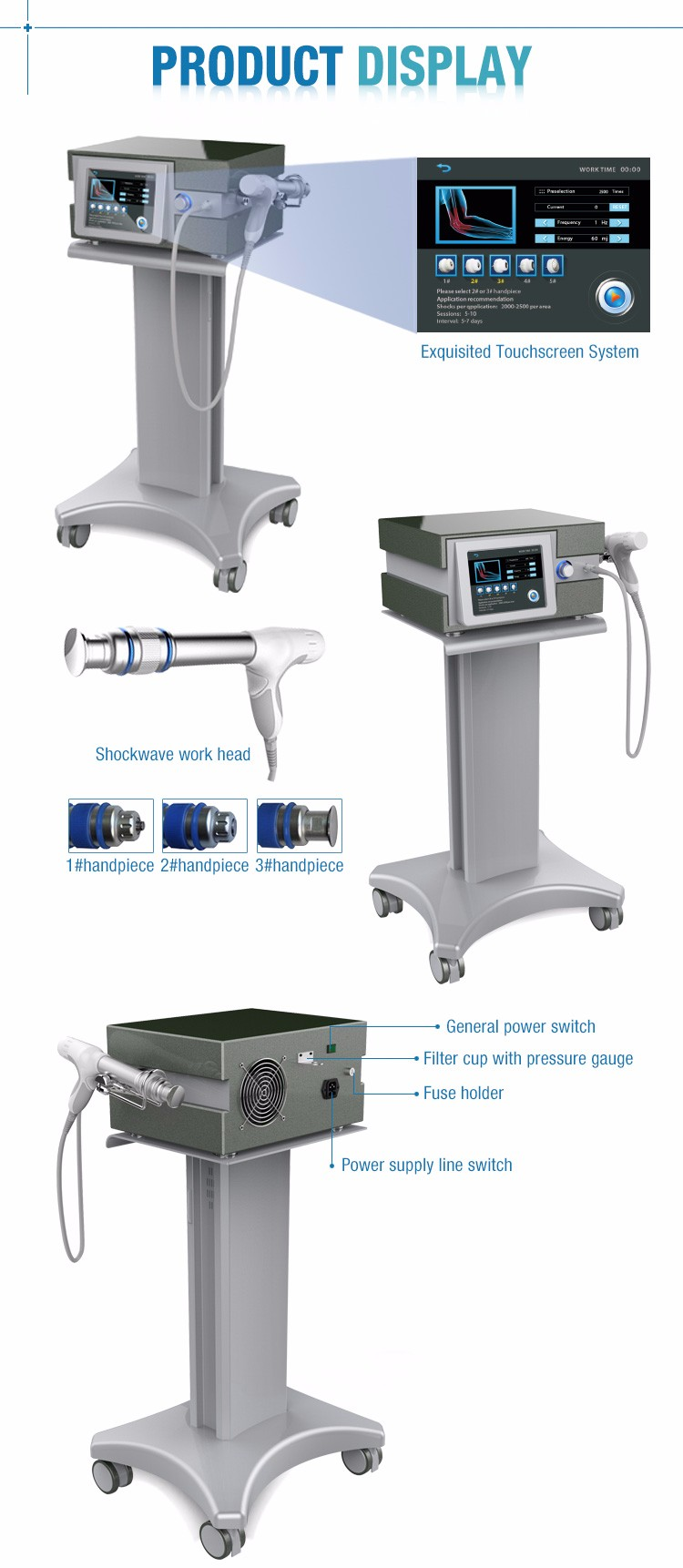 Use Physical Therapy Machine for Body Pain Relief MSLST02