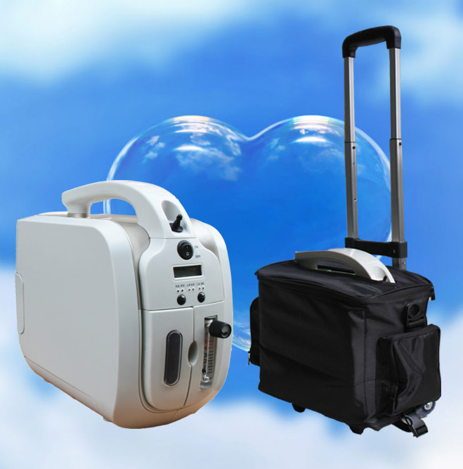 2017 New design Oxygen concentrator easy to carry MSLJY01