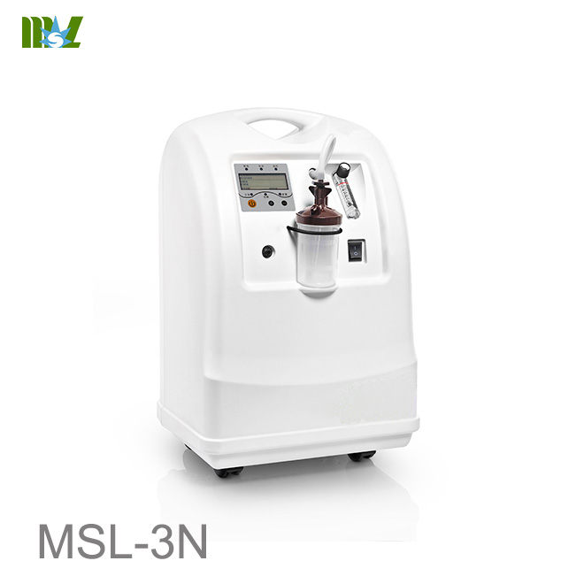 Oxygen concentrator machine with oxygen nebulization MSL-3N