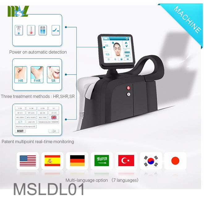 laser hair removal MSLDL01