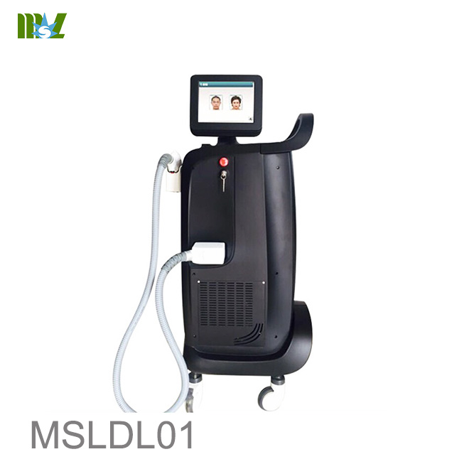 808nm diode laser mix wavelength laser hair removal machine MSLDL01