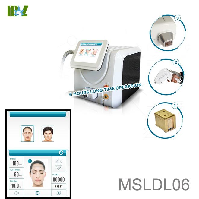 Laser pubic hair removal machine MSLDL06