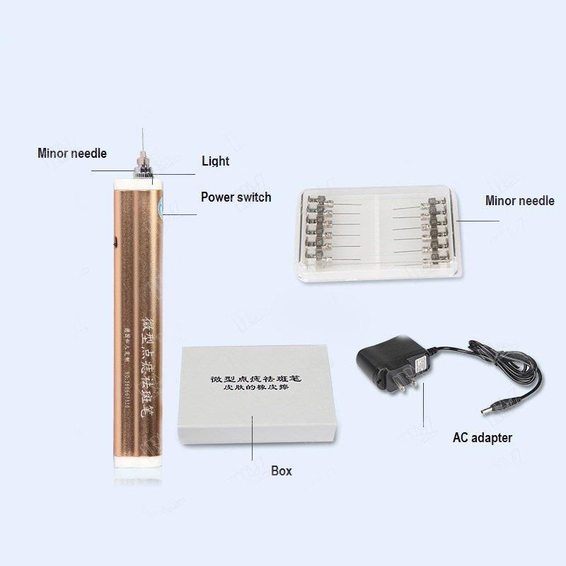 laser spot removal pen
