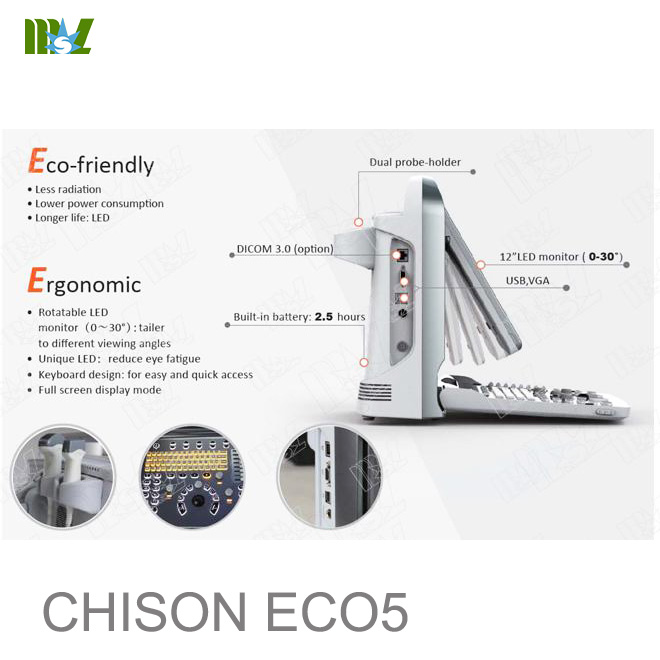 ultrasonido doppler chison eco 5