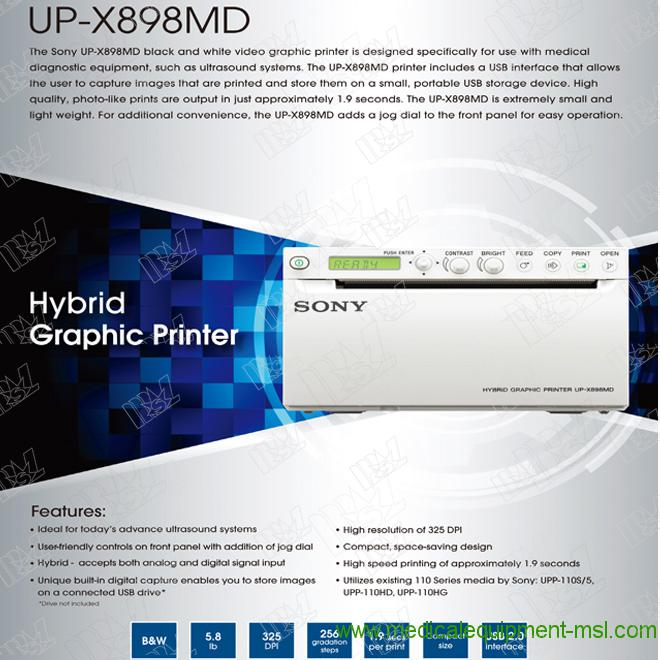 sony thermal printer