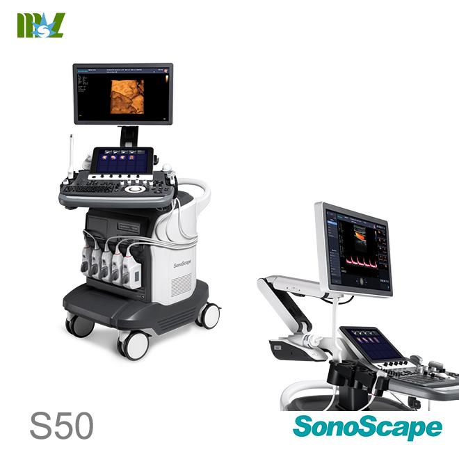 ultrasonido 4d doppler vascular SonoScape S50 price
