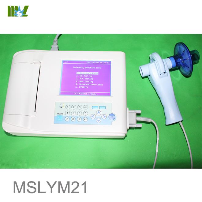 breathing spirometer