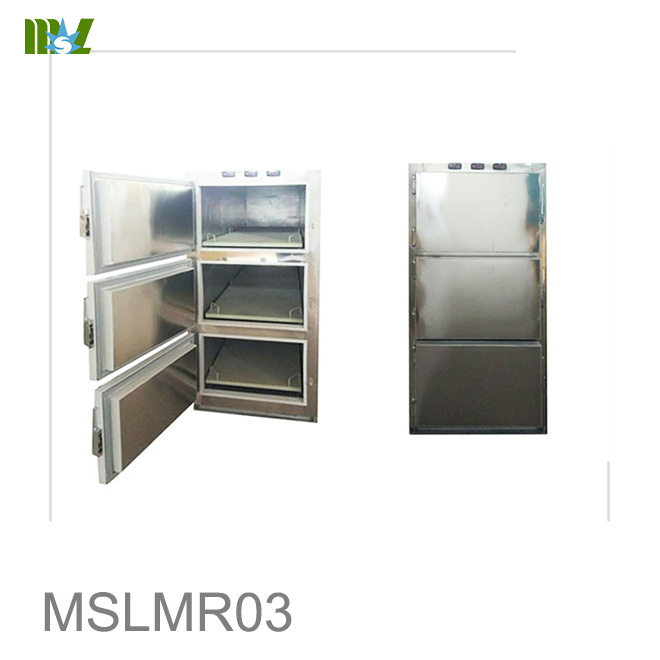 Three dodies mortuary freezer MSLMR03