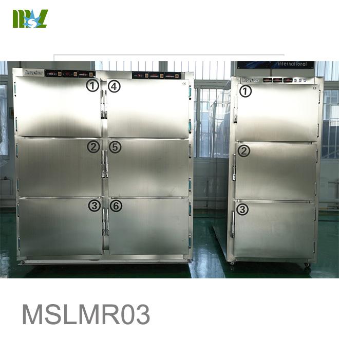 corpses cold storage room temperature adjustable morgue Mortuary Freezer equipment