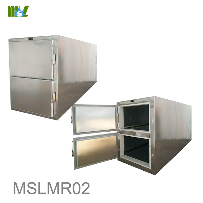 two-body mortuary refrigerator