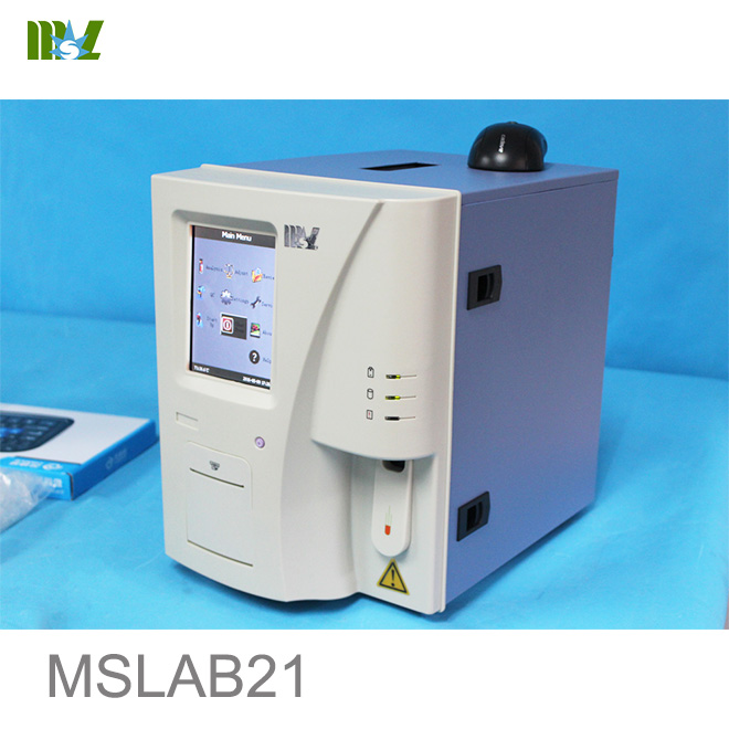 Portable hematology analyzer 3 diff MSLAB21