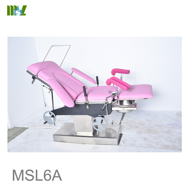 gynecological operating table