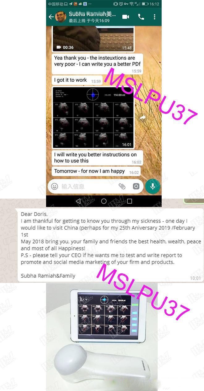 MSLPU37 Customer praise