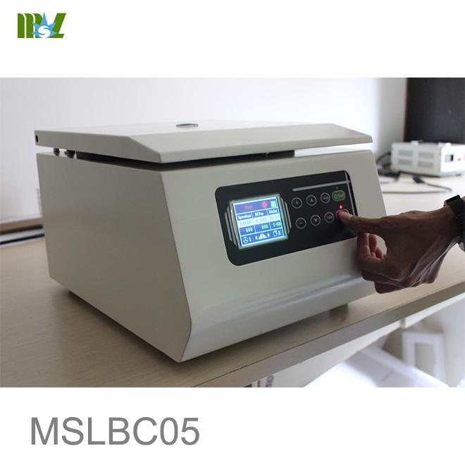 benchtop centrifuge