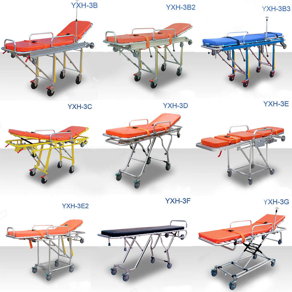 types of stretchers