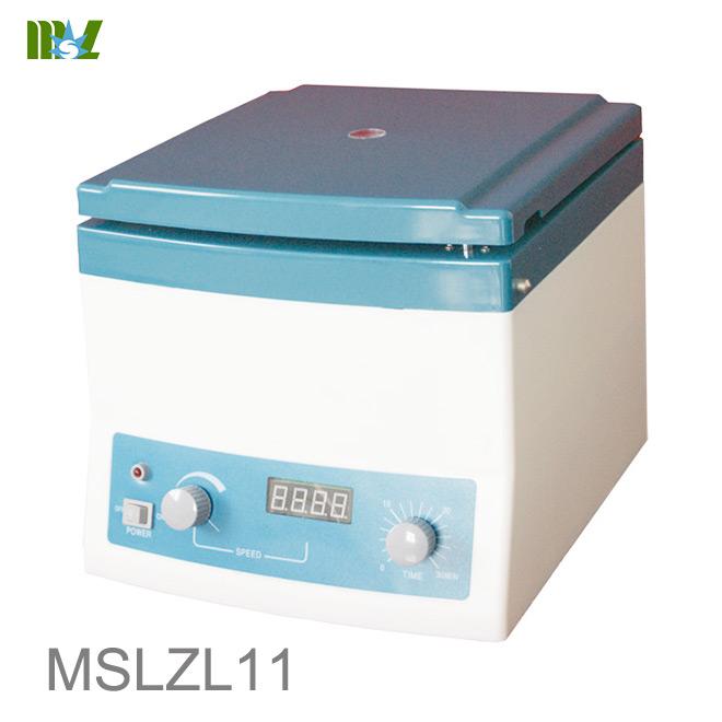 application of centrifugation