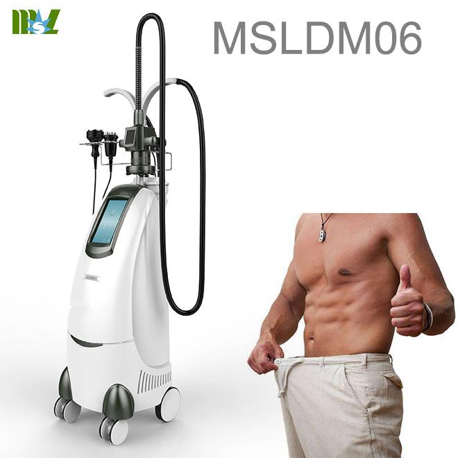 Cavitation rf body slimming machine
