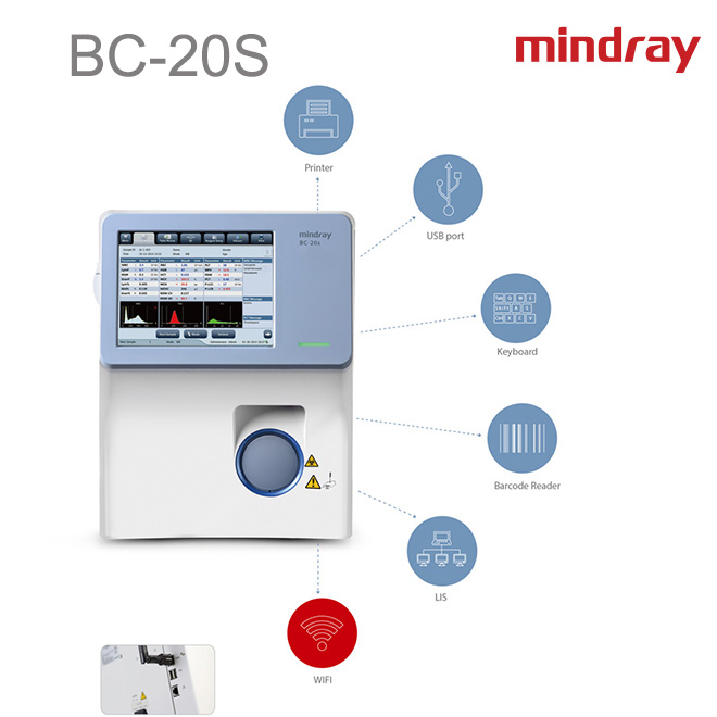Mindray Auto Hematology Analyzer BC-20S