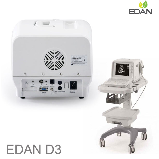 B/W Digital Ultrasound EDAN D3