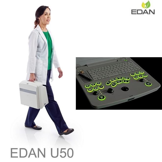 EDAN U50 doppler scan