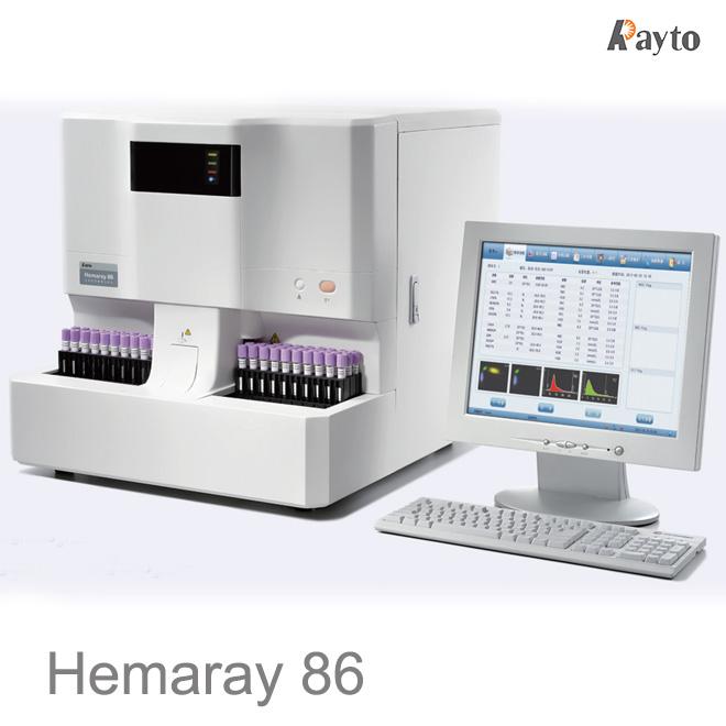 automated hematology analyzer Hemaray 86