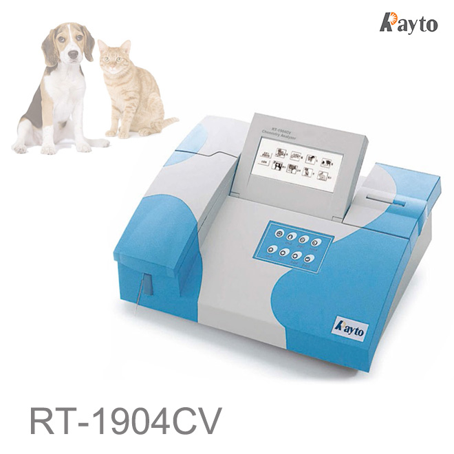 Rayto RT-1904CV veterinary chemistry analyzer