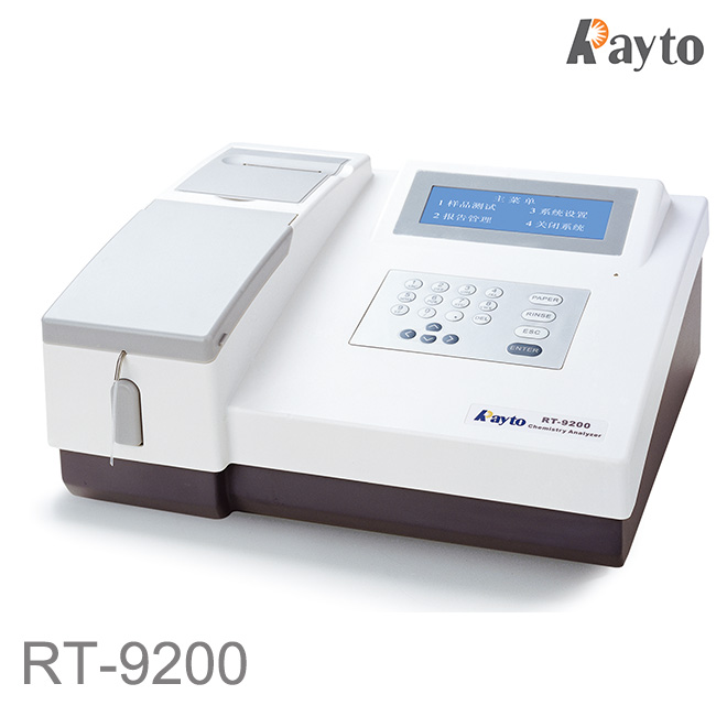 Rayto RT-9200 Semi-auto Chemistry Analyzer