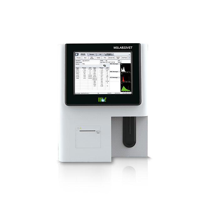 Vet 3-Part Auto Hematology Analyzer MSLAB22VET