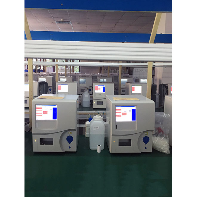 Automatic Hematology Analyzer with themal printer MSLAB31-4