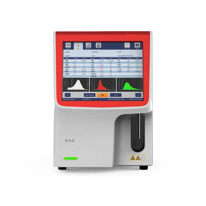 Smart Auto Animal Hematology Analyzer MSLAB41Vet-1