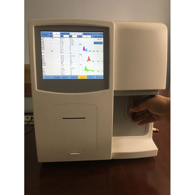 Fully-auto Hematology Analyzer with External Printer MSLAB380-3