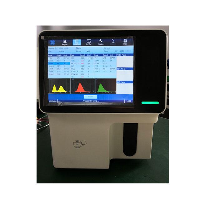 Easy used Auto 3-part Hematology Analyzer MSLAB23Plus-4