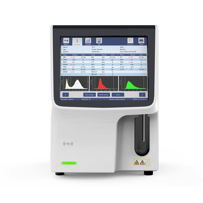 Designed for Small Clinic 3-Diff Auto Hematolaogy Analyzear MSLAB42