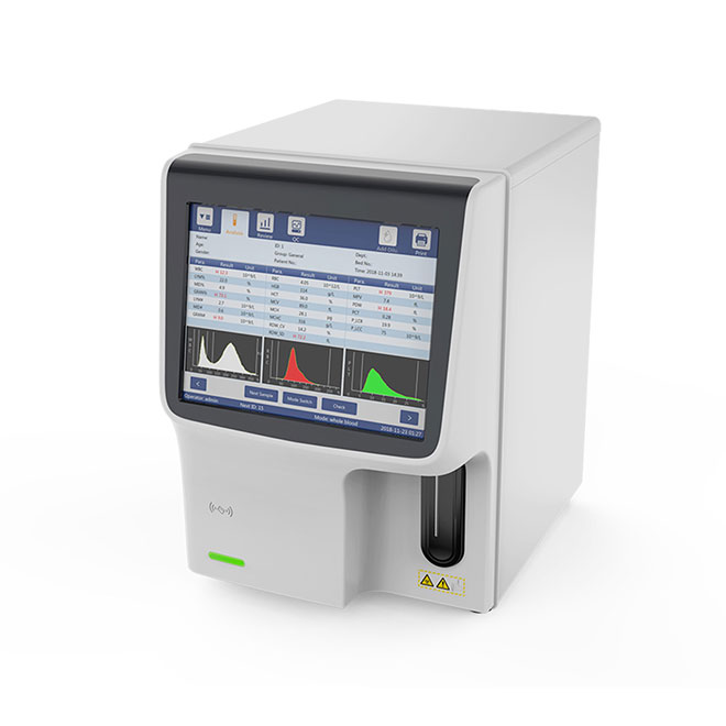 Designed for Small Clinic 3-Diff Auto Hematolaogy Analyzear MSLAB42-5